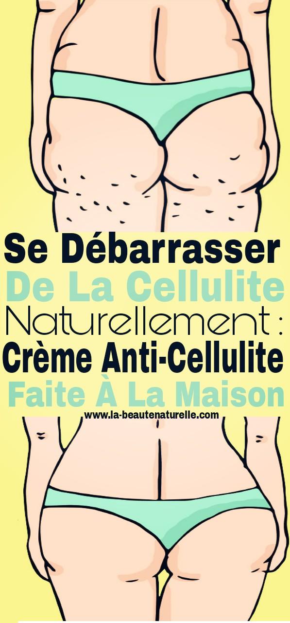 Se débarrasser de la cellulite naturellement : crème anti-cellulite faite à la maison