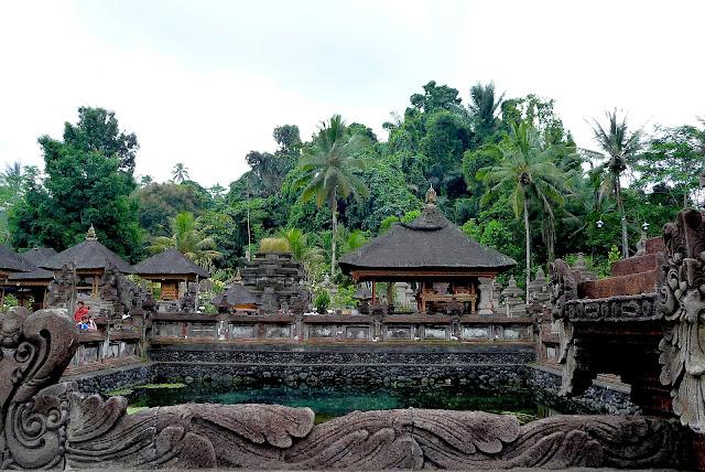 Temple de Tampaksiring à Bali en Indonésie