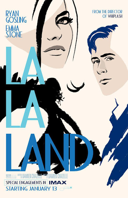 La La Land IMAX Poster and sheet music for City of Stars