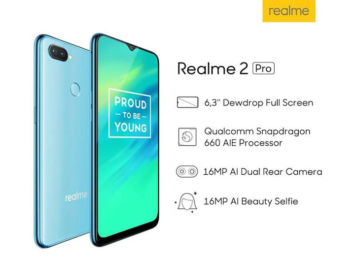 Ciri-ciri menarik Realme 2 Pro
