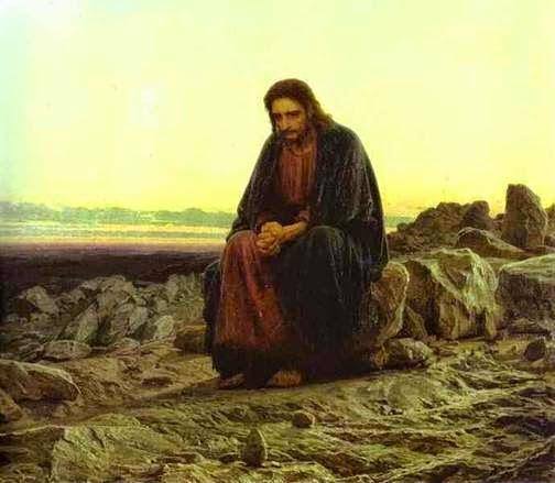 Jesús-desierto