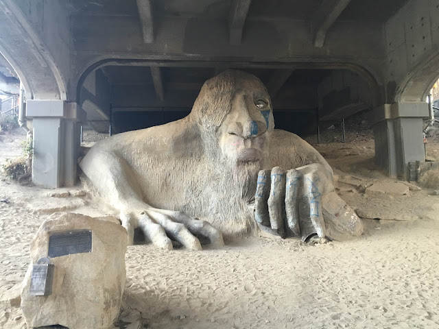 The Fremont Troll, Seattle, WA | A Hoppy Medium