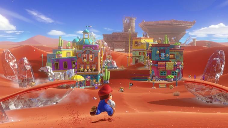 Super Mario Odyssey sacará partido de la vibración HD de la consola
