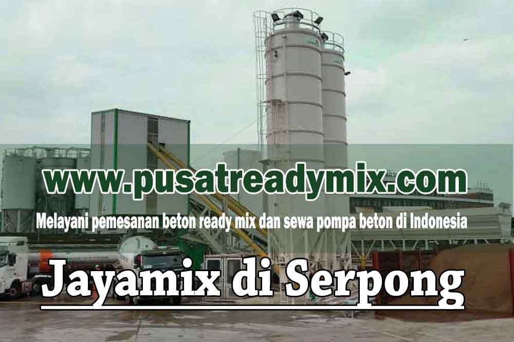 Harga Beton Jayamix Serpong Tangerang Selatan 2020