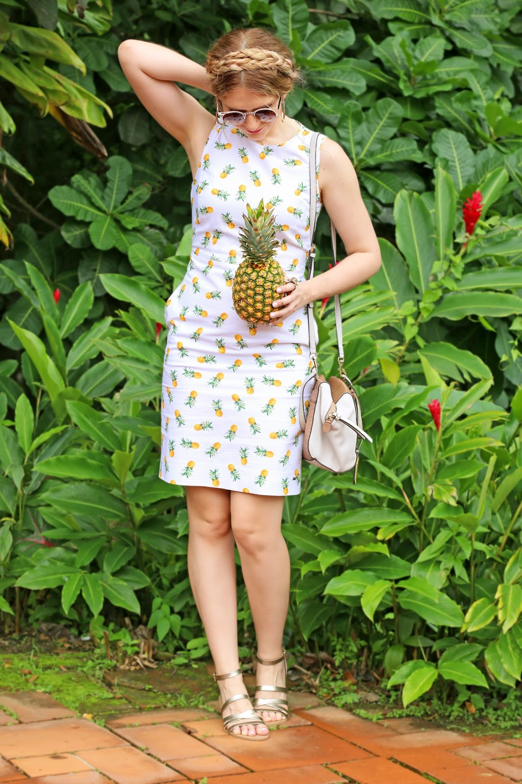 Super cute Pineapple dress for Summer