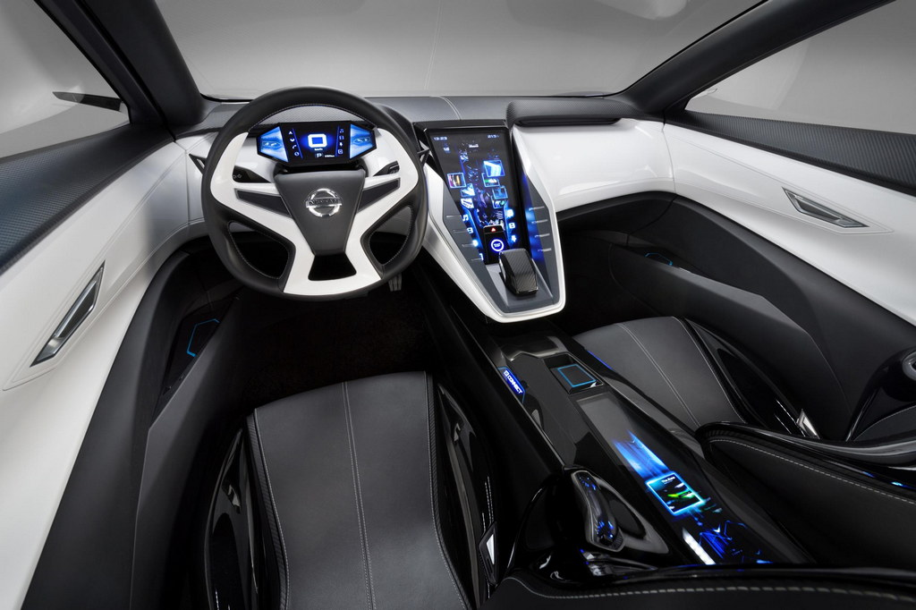 Interior Design Nissan Friend Me Concept At Shanghai Automotive