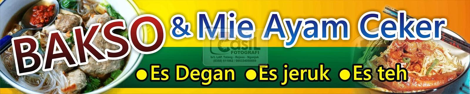 Lucu Contoh Banner Mie Ayam - contoh desain spanduk