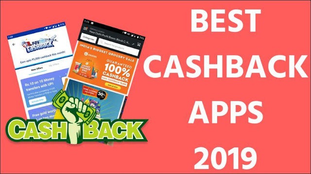 List Of Best Cashback Apps - Cashback Offers, Mobile Recharge Offers