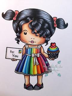 Lala Land Heart Cupcake Marci