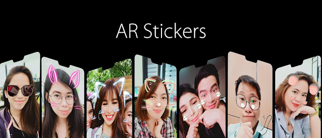 OPPO F7 AR Stickers