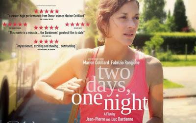 ΕΡΓΑΤΙΚΟ ΚΕΝΤΡΟ ΘΕΣΠΡΩΤΙΑΣ  Προβολή ταινίας σήμερα με τίτλο: «Δυο 2 μέρες και μια Νύχτα»
