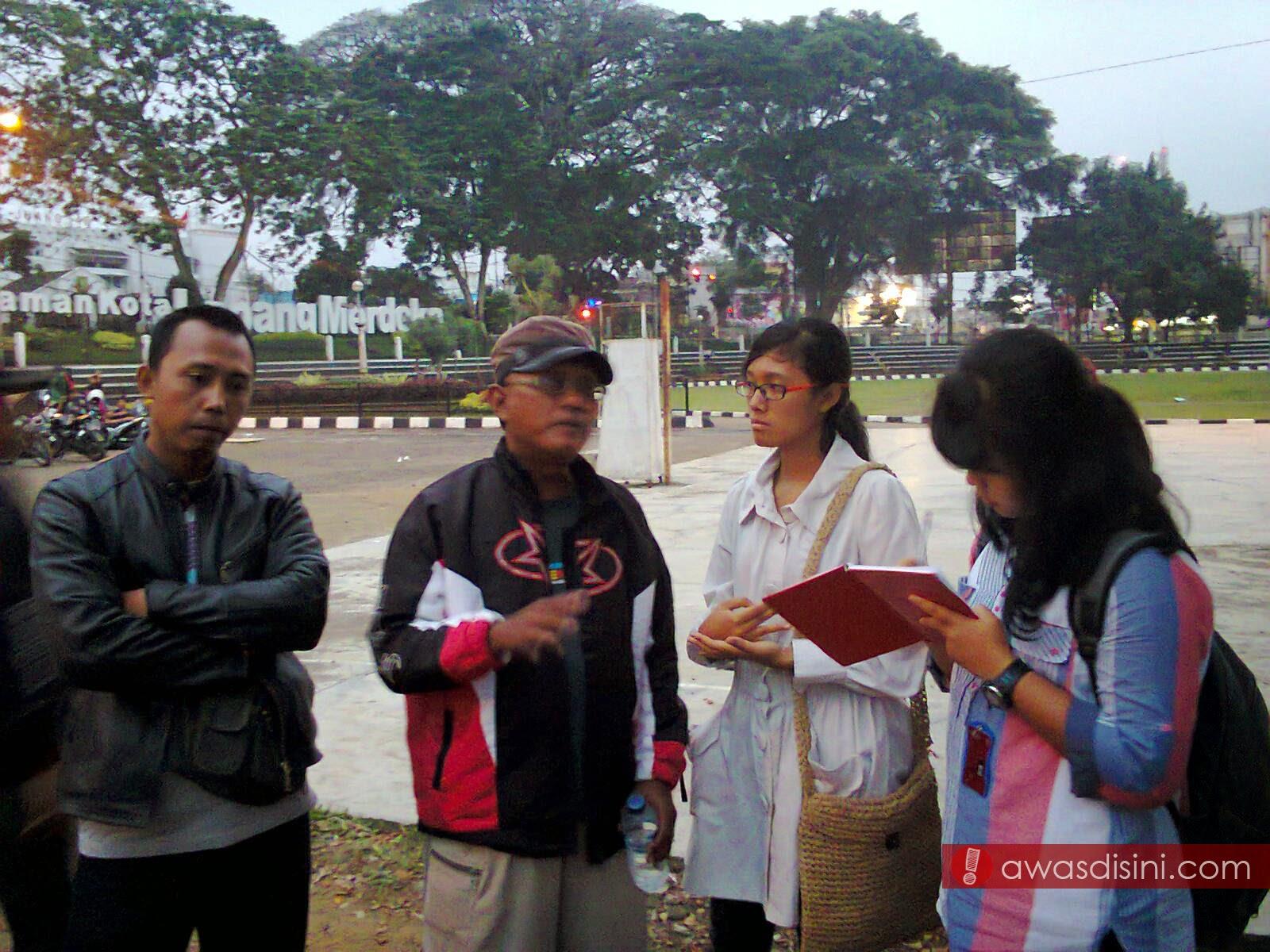 Photo0091 400 Demonstran Menuntut kebijakan Pemkot Sukabumi