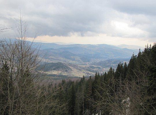 Panorama z Zerwy Cylowej