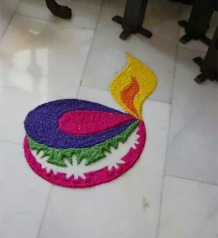 Happy New Year 2018 - Rangoli Designs Images