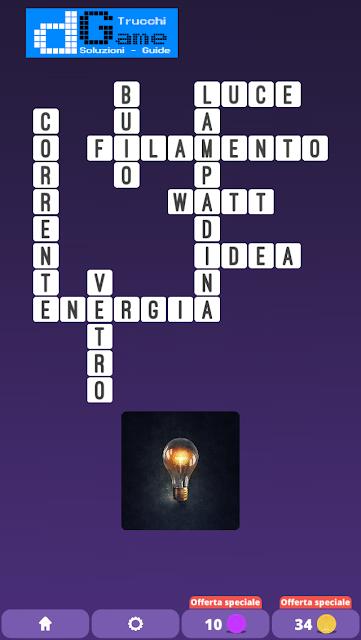 Soluzioni One Clue Crossword livello 8 schemi intermedia (Cruciverba illustrato)  | Parole e foto