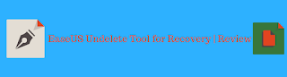 EaseUS Undelete Tool for Recovery