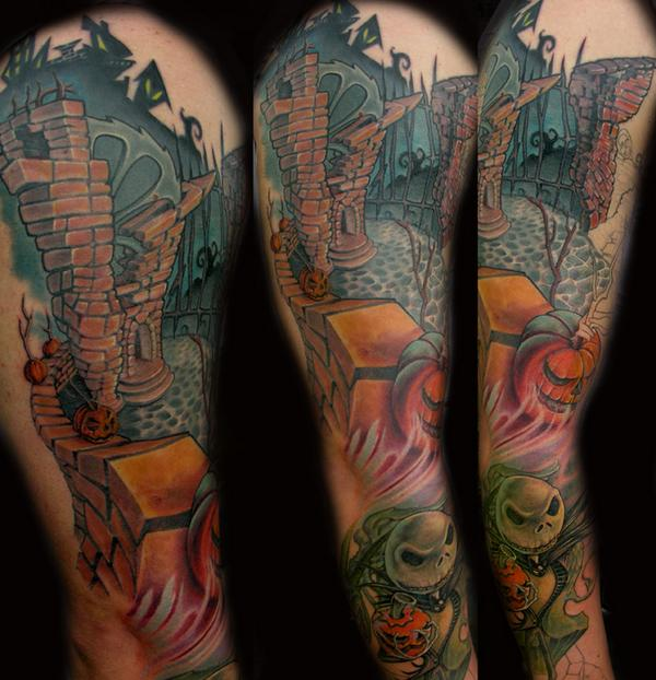 Fantasy Tattoo Sleeve: Youth Tattoos: Fantasy Tattoo Pictures: Popular Design