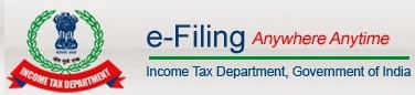 e-Filing Income Tax Department logo pictures