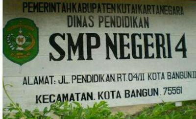 Biodata alumni SMPN 4 Kota Bangun II Tahun 2000