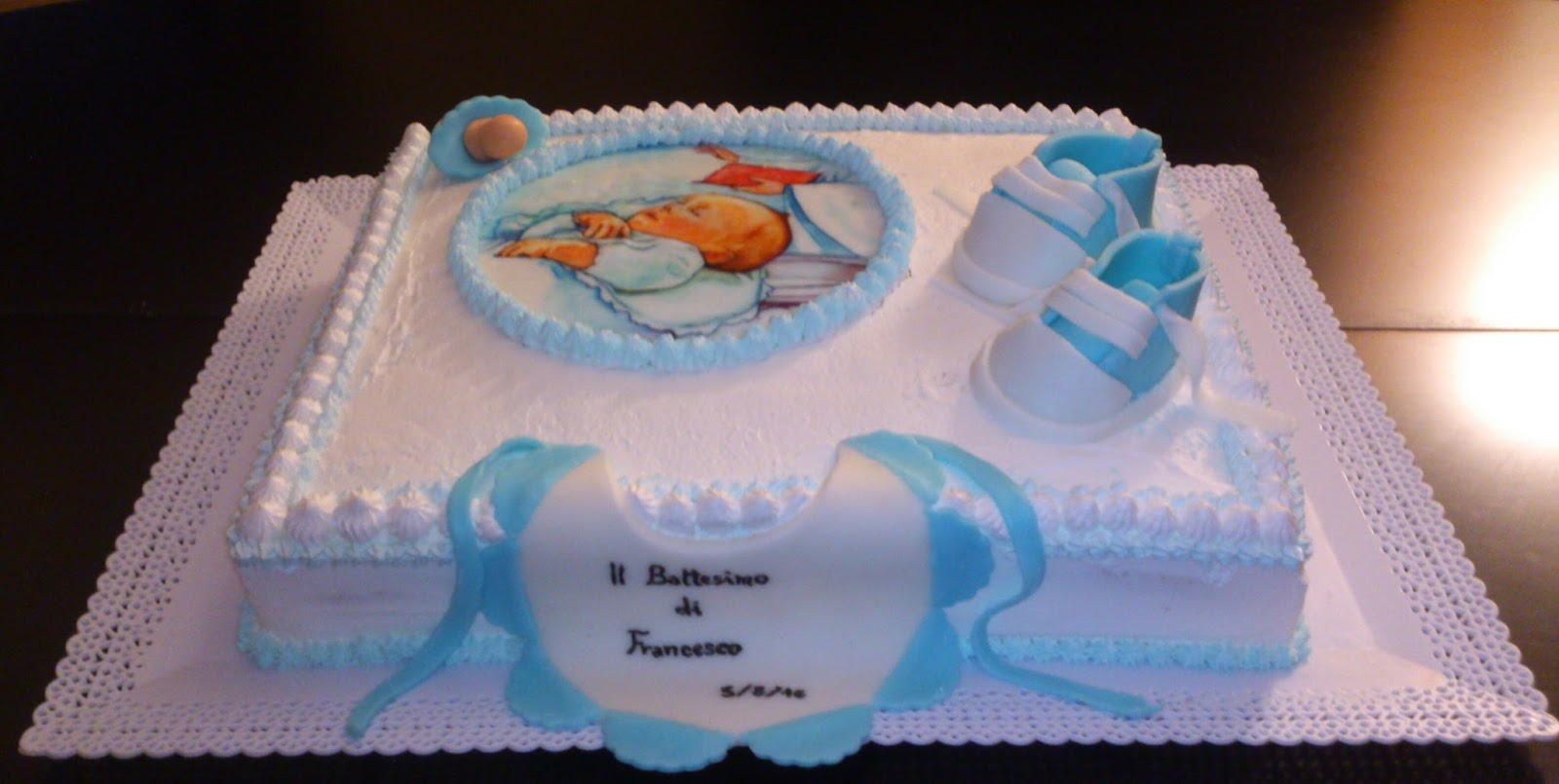 Decorazioni torte battesimo bimba nb03 regardsdefemmes - Decorazioni battesimo bimbo ...