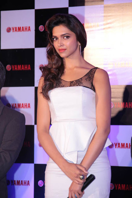 Deepika Padukone Hot White Dress