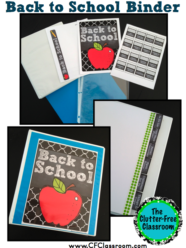How to ORGANIZE Your Back to School TEACHER Checklist