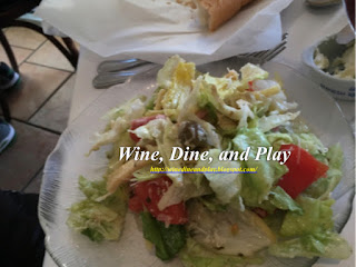 The 1905 Salad is prepared a la motte table side at the Columbia Restaurant in Sarasota, Florida