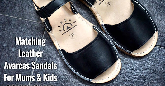 Matching Leather Avarcas Sandals for Mums & Kids