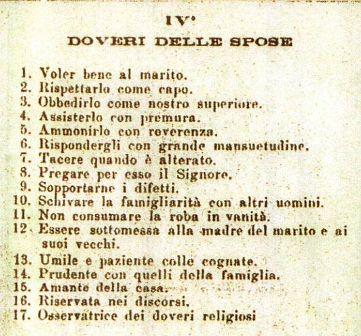 Mixtura spot chiesa doveri delle mogli 1895 for Disegni della casa del merluzzo del capo