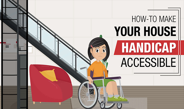How To Make Your House Handicap Accessible Infographic