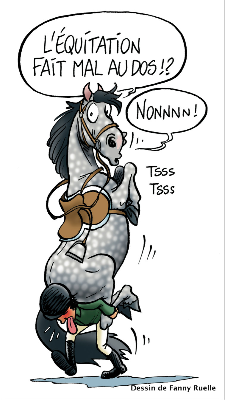 Mon cheval me dit: 10 conseils pour protéger votre dos et celui de votre cheval