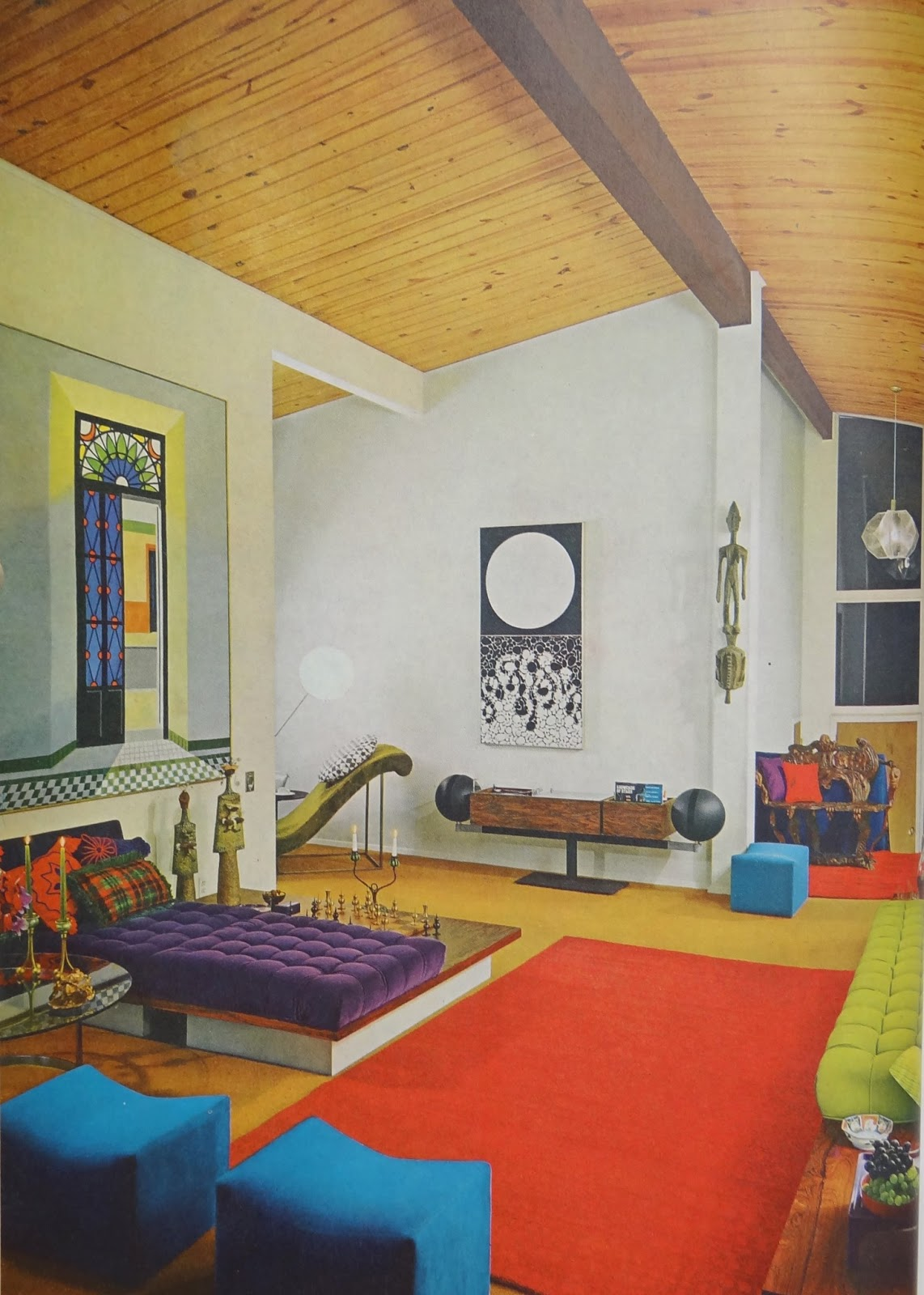 Room And House Decor Pictures: GYPSY YAYA: Lovin' 1970s Design- House & Garden's Complete