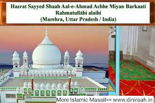 Hazrat Shams-ud-deen Abul Fazl Sayyed Shaah Aale Ahmad Barkaati