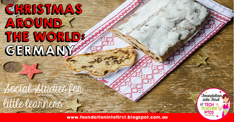 Christmas around the world: Germany. Take your students on a guided exploration of German culture and traditions at Christmas time. Perfect for your geography or social studies lesson.