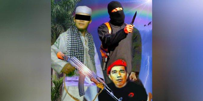 Polisi tangkap Cahyo Gumilar, penghina Presiden Jokowi di Facebook