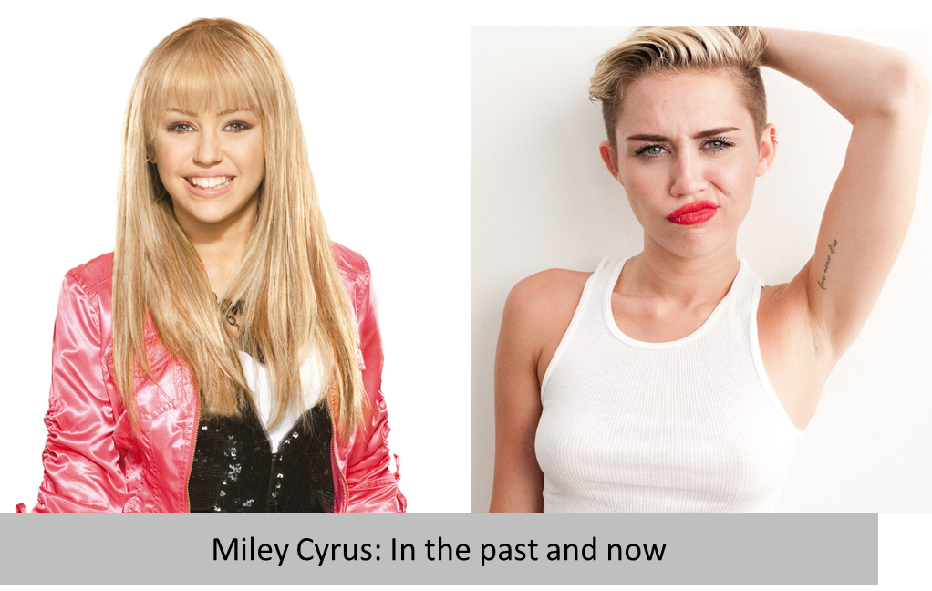 Hannah montana vs miley cyrus today dating. when do women quit visiting dating sites.