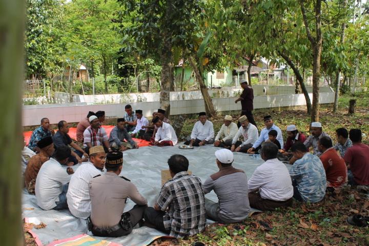 KPA / PA Gelar Kheunduri dan Doa Bersama Untuk Para Korban Konflik di Gampong Cot Baroh