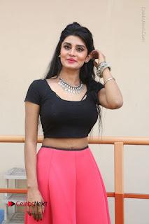 Telugu Actress Harini Stills at Dhyavudaa Movie Teaser Launch  0112.JPG