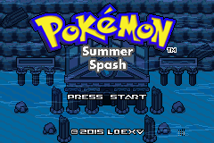 pokemon summer splash holiday hack cover