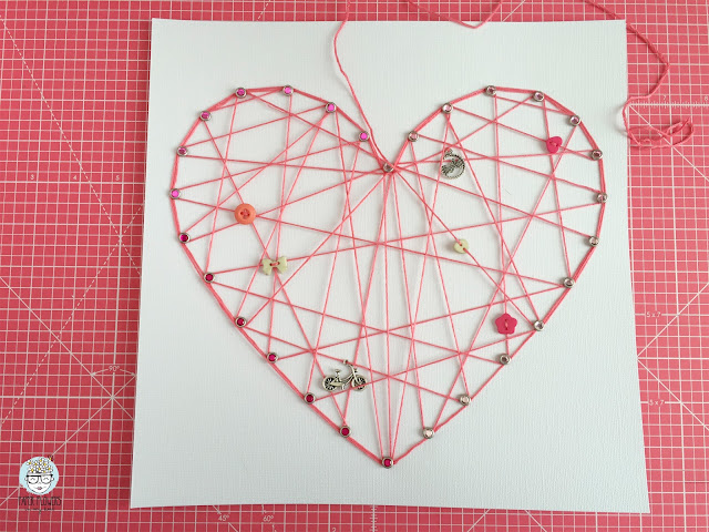 tutorial layout string art