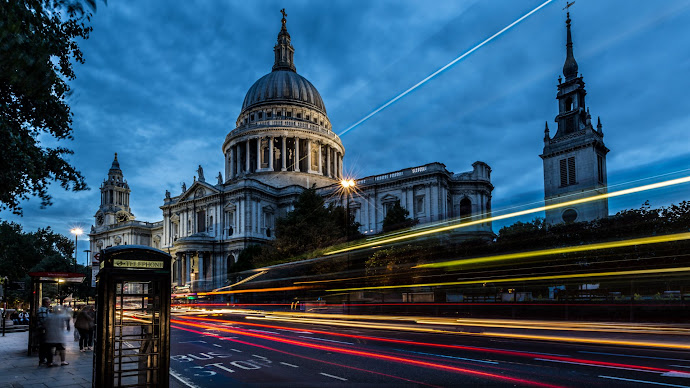 Wallpaper: London St Paul Cathedral