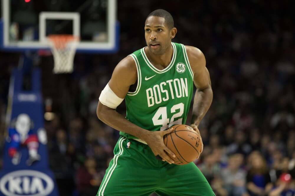 7aab55101 J. R. Smith s foul on Al Horford in Game 2 remains Flagrant 1 with no  suspension