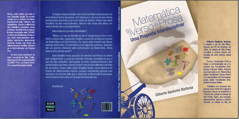 Conheça o livro: Matemática em Verso e Prosa – Uma Proposta Interdisciplinar