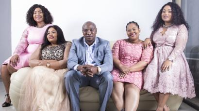 Musa Mseleku and his four wives in new reality show in South Africa