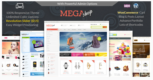 Free Download Mega Shop Premium WooCommerce WordPress Theme - WP Floor