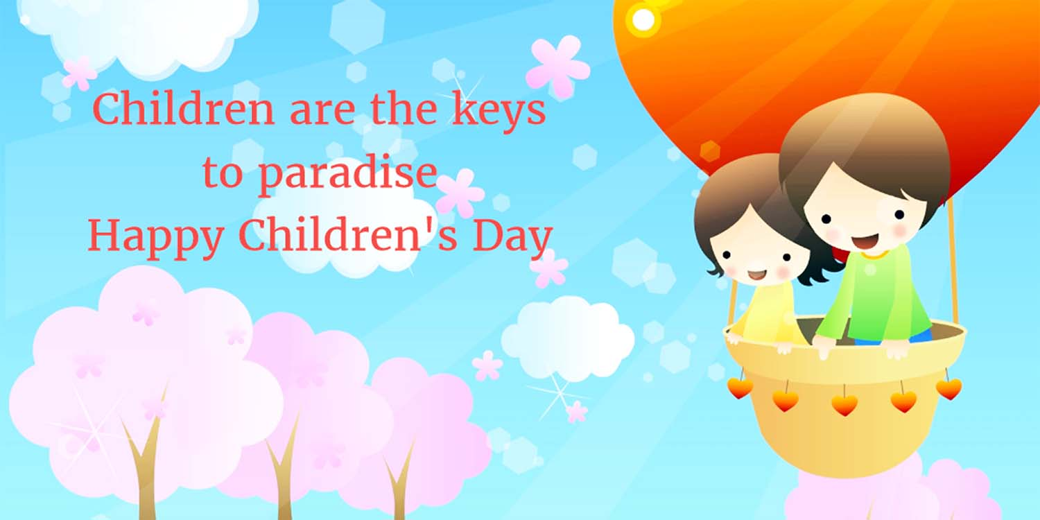message for children's day