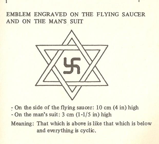 raelian truth the official imbalanced raelian symbol