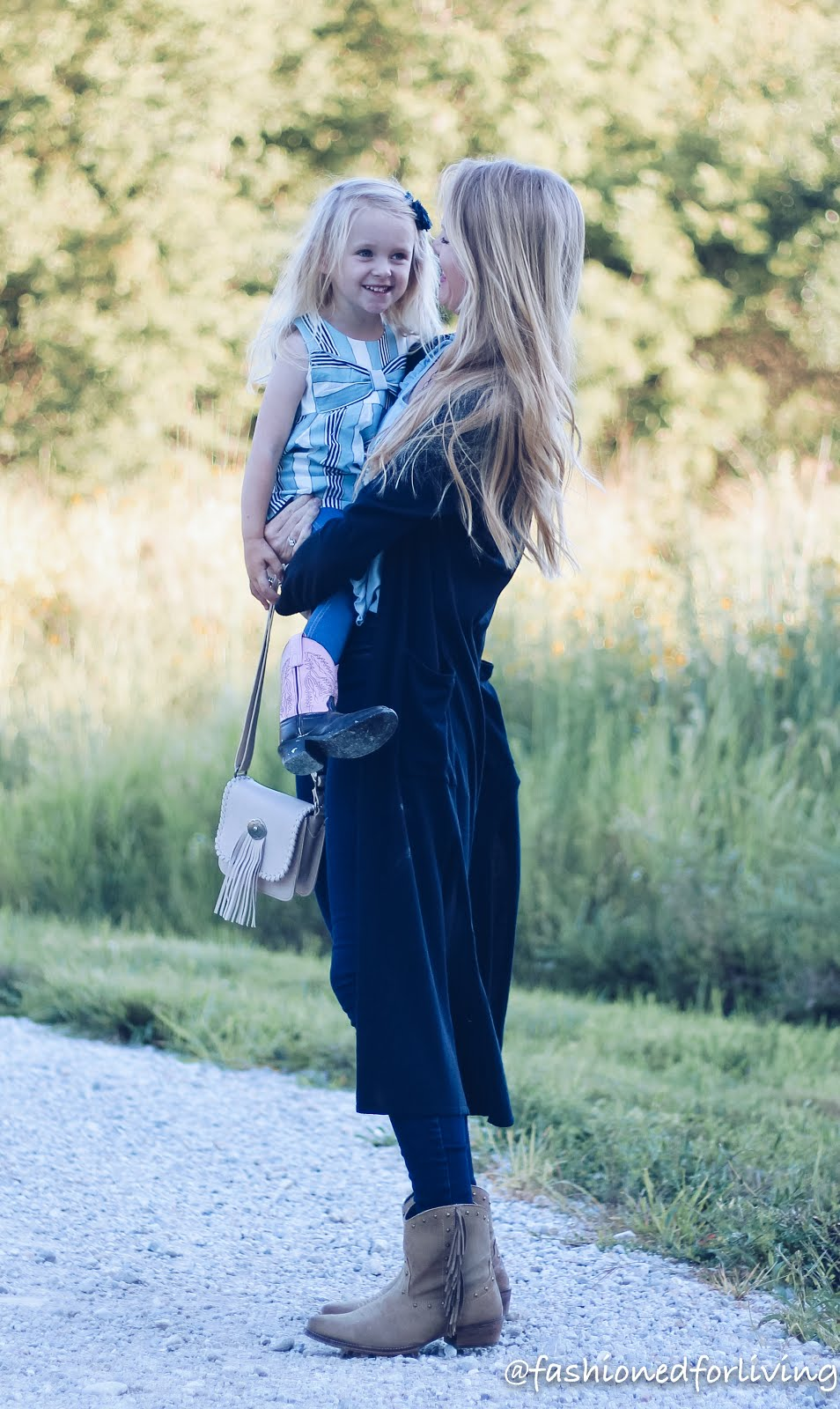 mother/daughter fall outfits