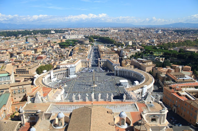 St. Peter's Basilica - View for the dome