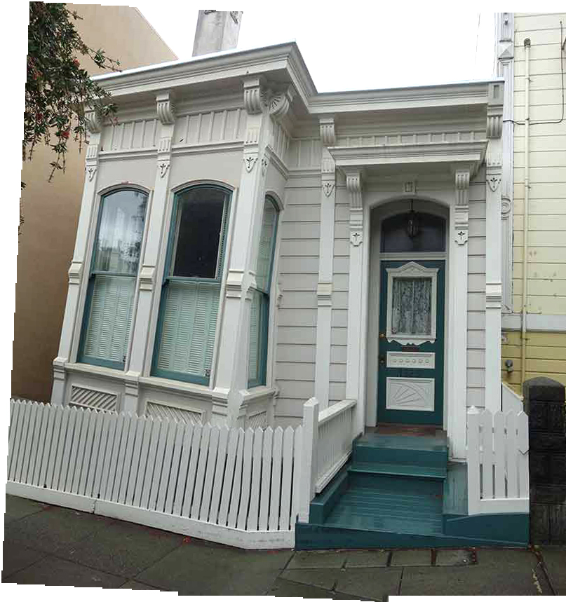 Awe Inspiring Lloyds Blog Small Victorian House In San Francisco Largest Home Design Picture Inspirations Pitcheantrous